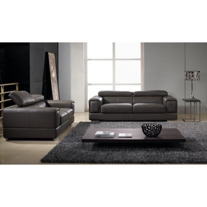 salon cuir gris souris lima achat vente salon complet cuir polyur thane bois soldes. Black Bedroom Furniture Sets. Home Design Ideas