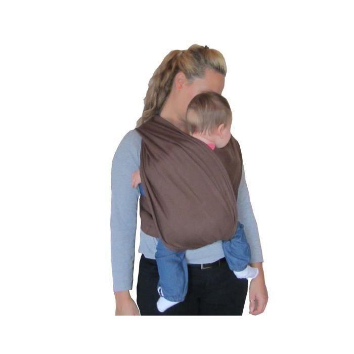 Gris /Écharpe porte-b/éb/é en coton naturel /Écharpe de portage /Él/égant et Comfortable
