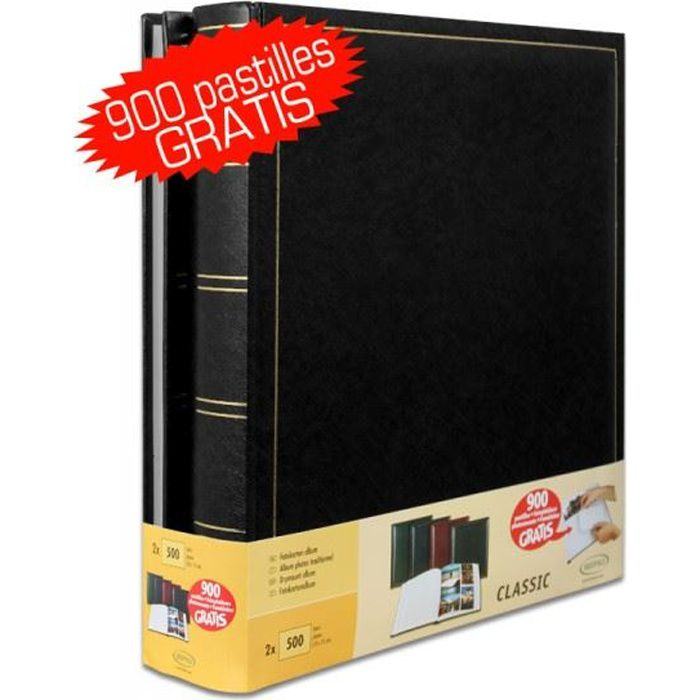 lot de 2 albums traditionnels jumbo 100 pages p achat. Black Bedroom Furniture Sets. Home Design Ideas