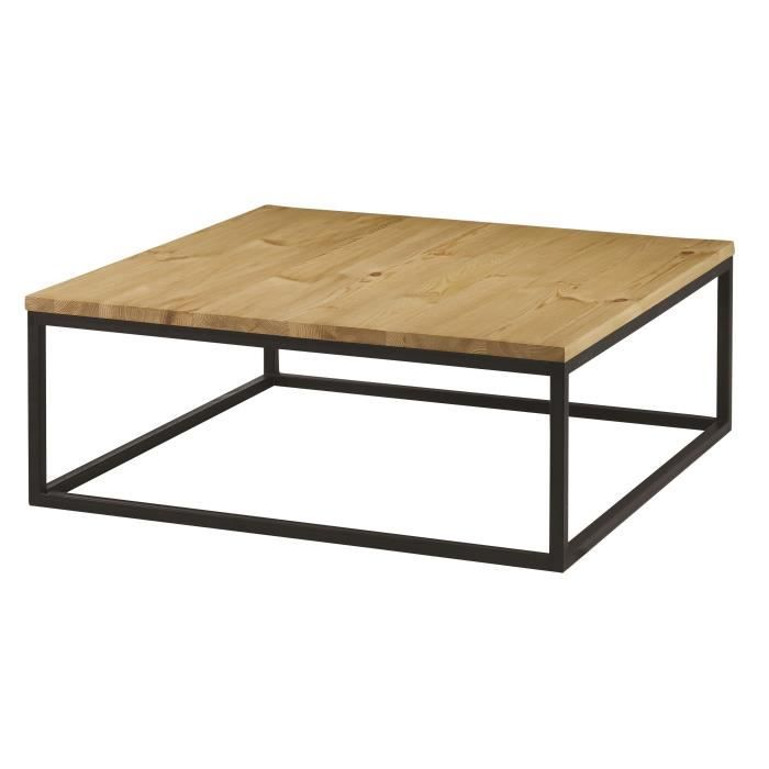 Table Basse Carree Metal Achat Vente Pas Cher
