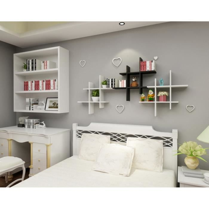 etagere murale chambre fille. Black Bedroom Furniture Sets. Home Design Ideas