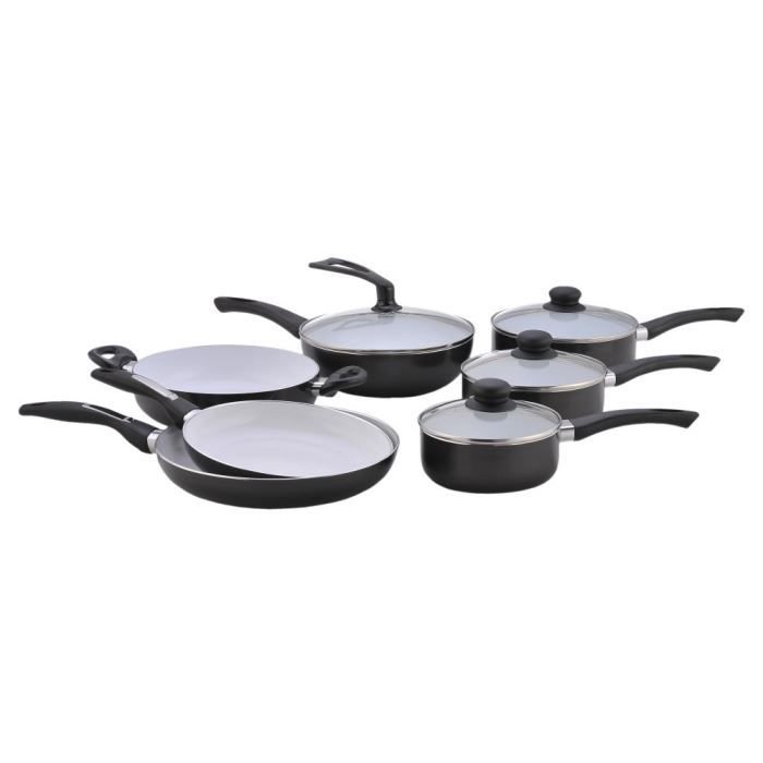Pradel set 11 pi ces c ramique induction achat vente batterie de cuisine pradel set 11 - Batterie cuisine ceramique induction ...