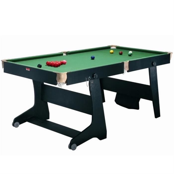 riley fs 6 tt 1 table de billard pliable convertible ping pong fl chettes achat vente. Black Bedroom Furniture Sets. Home Design Ideas