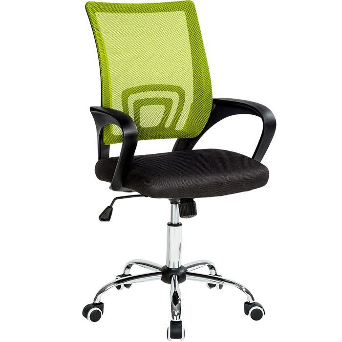 CHAISE DE BUREAU TECTAKE Chaise de bureau avec Accoudoirs - Hauteur
