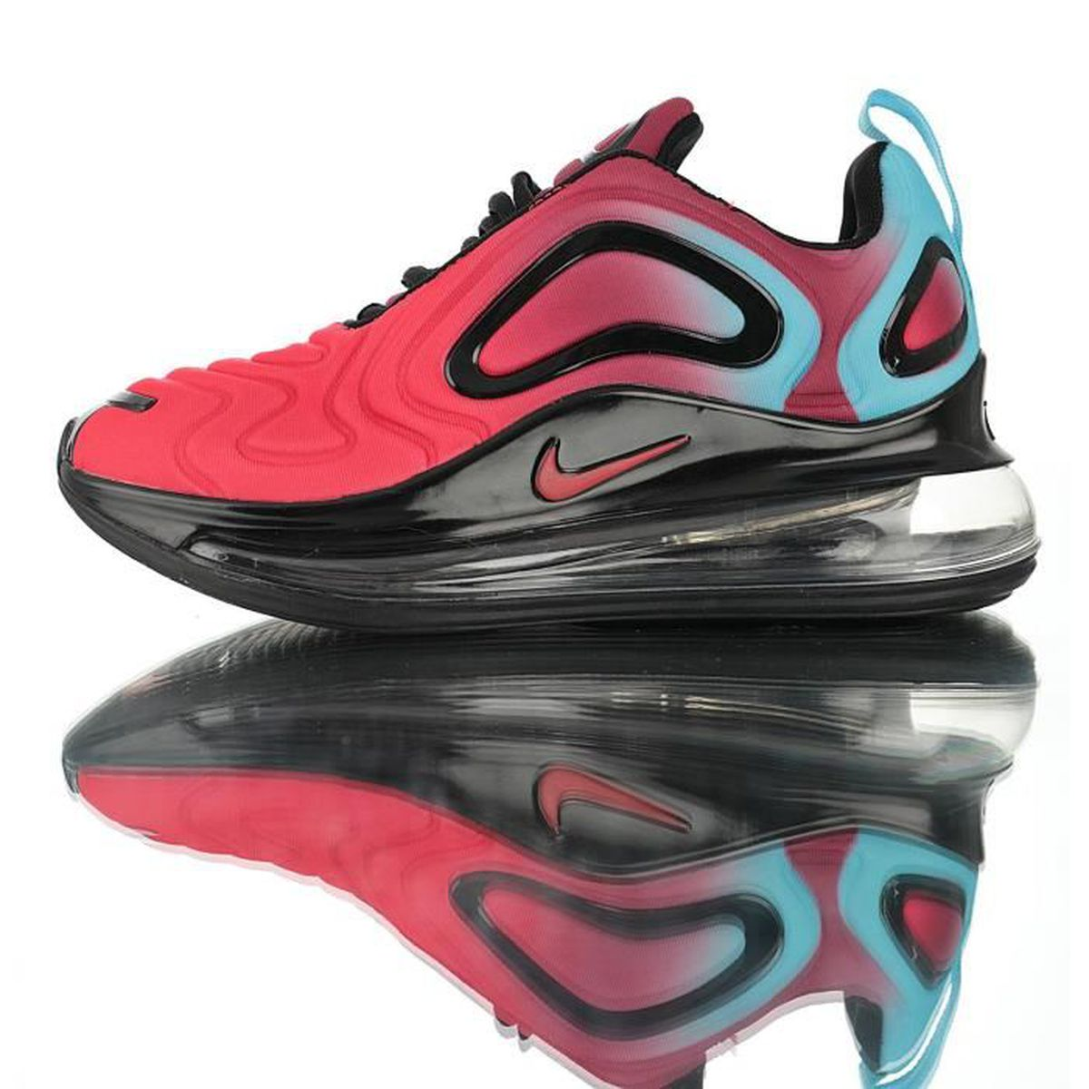 Max Femme Homme Et Rouge 720 Baskets Nike Air Noir vwOm8Nyn0