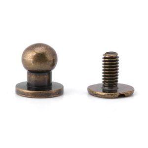 40Pcs Rivet plastique Clips bouton poussoir noir Trou fixation 8mm Pare-chocs