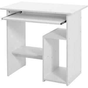 MEUBLE INFORMATIQUE Bureau Informatique Roulant - Table Ordinateur - G