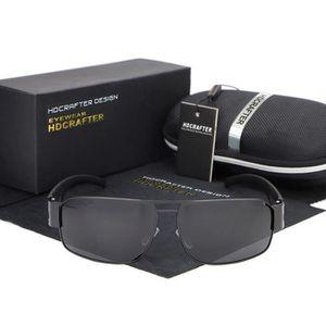 LUNETTES DE SOLEIL points chauds marque hommes mode lunettes de solei