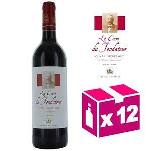 VIN ROUGE Cave Du Fondateur – Cuvée Héritage - Vin de France