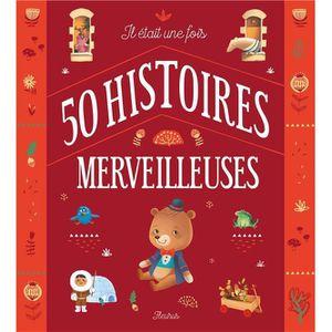 LIVRE 0-3 ANS ÉVEIL Livre - il était une fois 50 histoires merveilleus