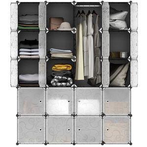 ARMOIRE DE CHAMBRE Finether 20-Cube Armoire de chambre Stockage Modul