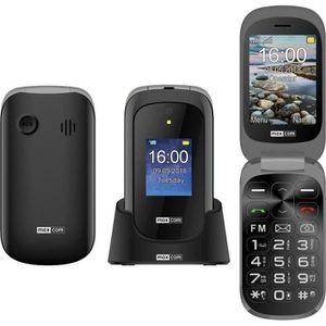 TELEPHONE PORTABLE SENIOR Téléphone portable à clapet GSM avec bouton appel