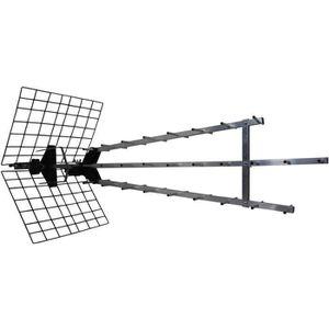 ANTENNE RATEAU METRONIC 415049 Antenne UHF Trinappe amplifiée 57d