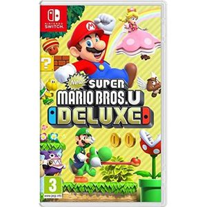 JEU NINTENDO SWITCH New Super Mario Bros U Deluxe Switch + 1 Figurine