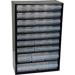 CASIER POUR MEUBLE Casier métallique - 40 tiroirs - RAACO