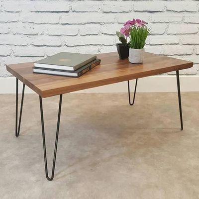 pied de table basse fer
