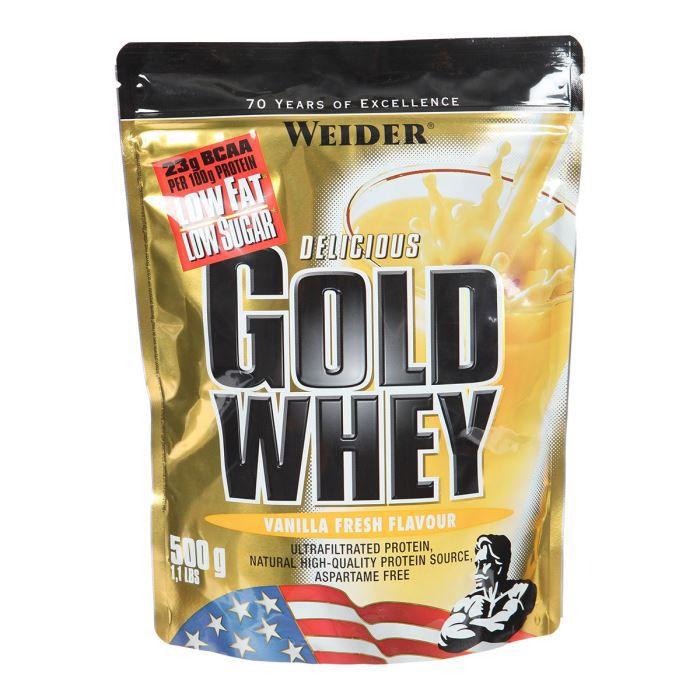 WEIDER GOLD WHEY Vanille 500 g NTT