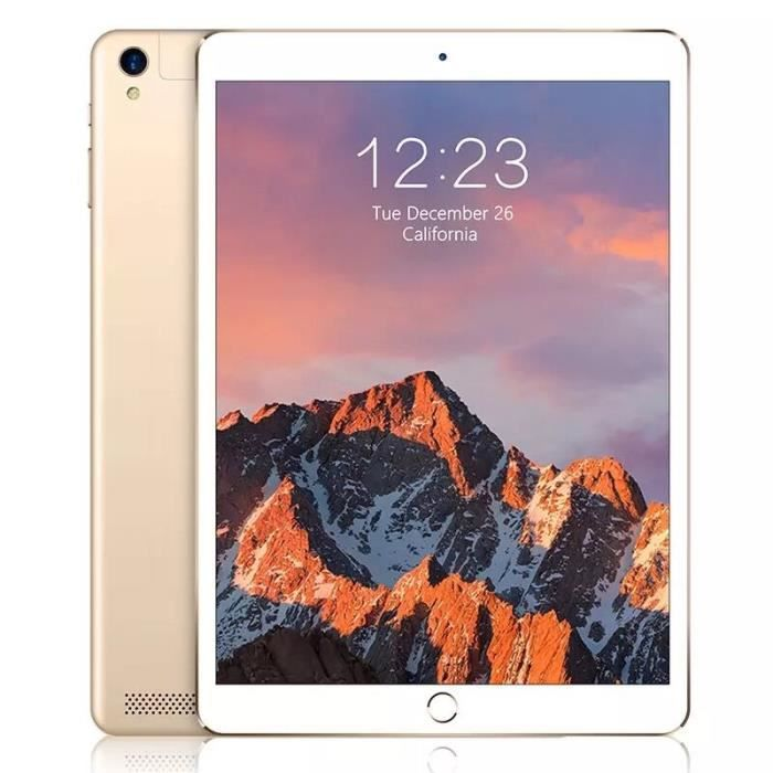 10 pouces Android 8.0 Os Tablet Pc Mtk8752 Octa Core 4 Go de Ram 64 Go Rom 3G 4G Lte Fdd Tablet Ips 1280 * 800 Écran 10.1