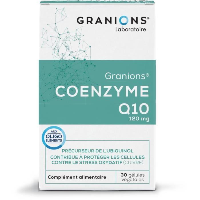 GRANIONS® COENZYME Q10 (BTE 30 GÉLULES)