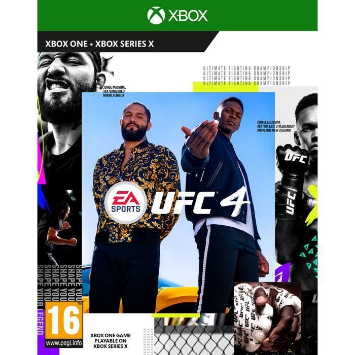 UFC 4 Xbox One Game