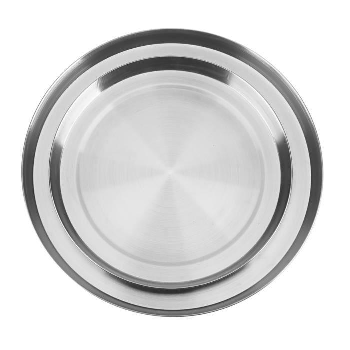 Garosa Couvercle supérieur de cuisinière Le brûleur supérieur de cuisinière de cuisine d'acier inoxydable de 4 pièces /
