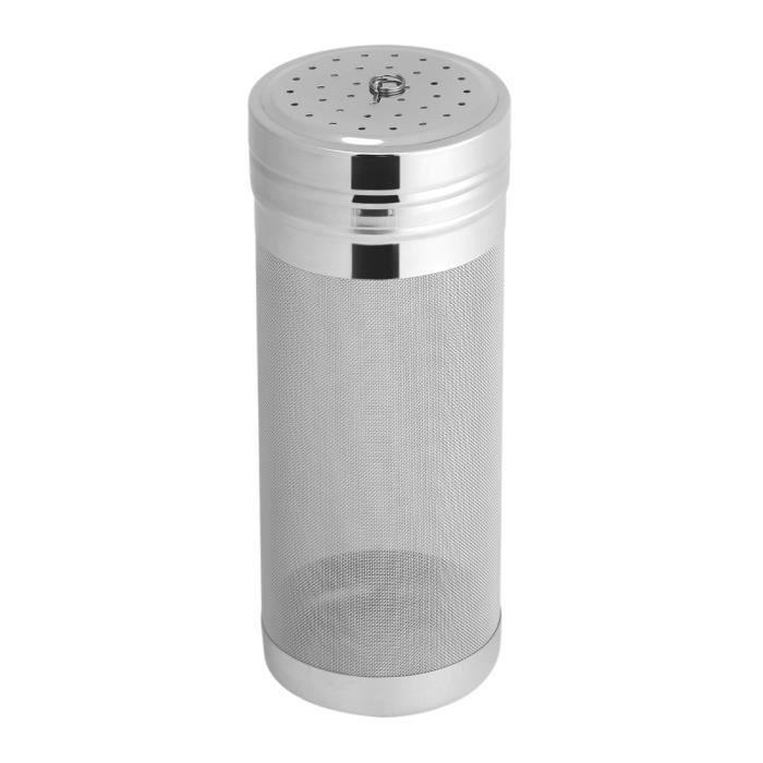 Dioche Trémie sèche 300 mini filtre à bière en maille d'acier inoxydable pour la trémie sèche de café maison de brassage fait