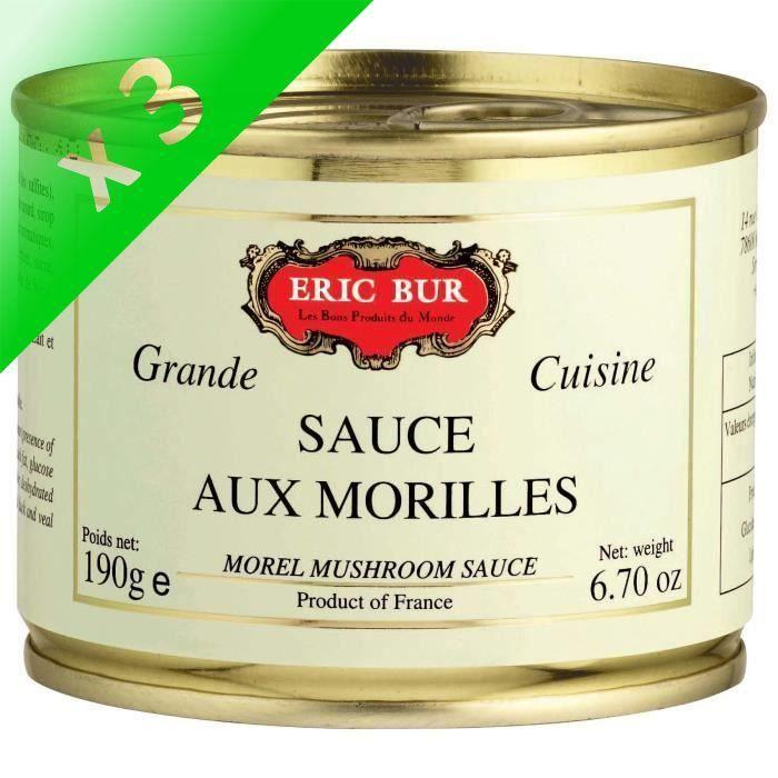 [LOT DE 3] Sauce aux morilles