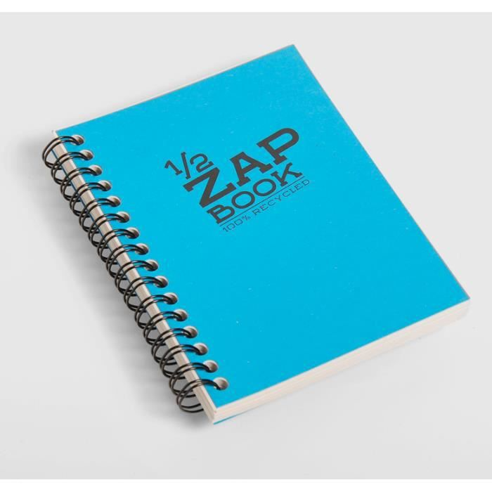 1/2 Zap Book spiralé - 148 x 210