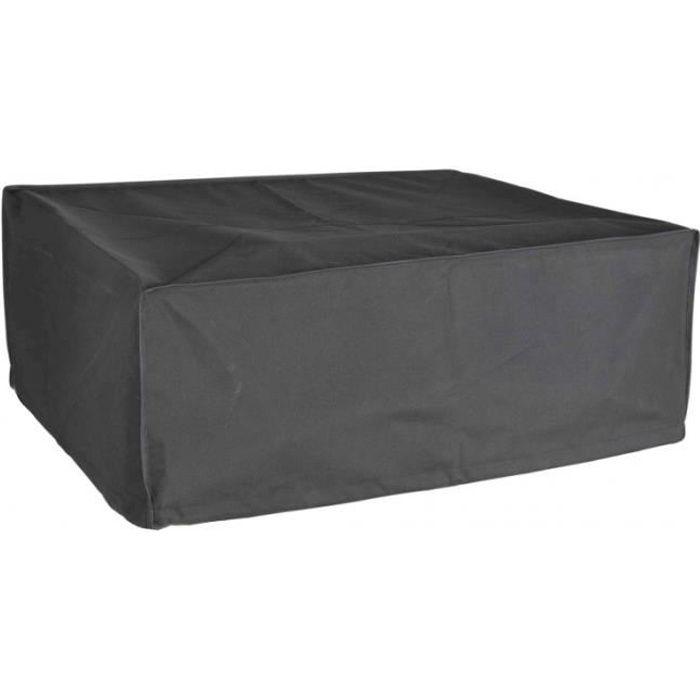 Housse De Protection pour plancha à poser Haute Qualité polyester L 75 x l 60 x h 25 cm couleur anthracite