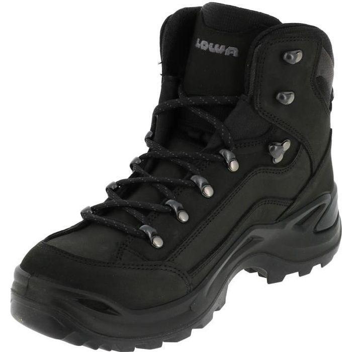Chaussures marche randonnées Renegade gtx mid black - Lowa