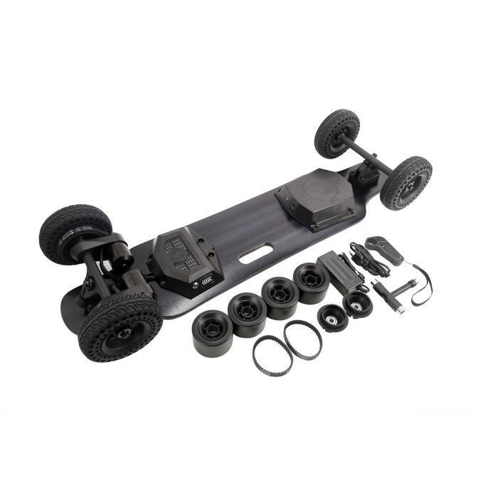 36,6 pouces SUV tout-terrain Longboard planche à roulettes électrique 2000W moteur 8000 mah batterie + échange de roues en PU