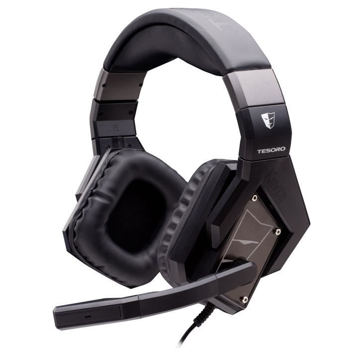 Tesoro Casque Gaming Kuven A1 Devil Noir