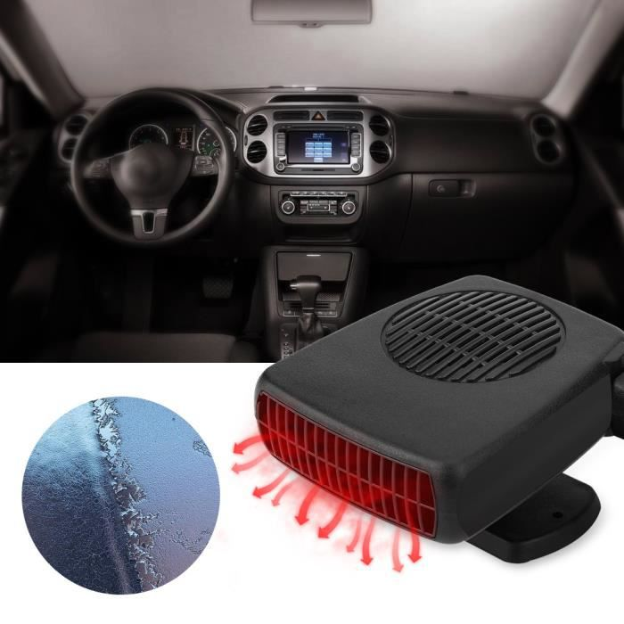 12V 150W Ventilateur Chauffage Dégivreur Réglable radiateur Réfrigération Auto Voiture