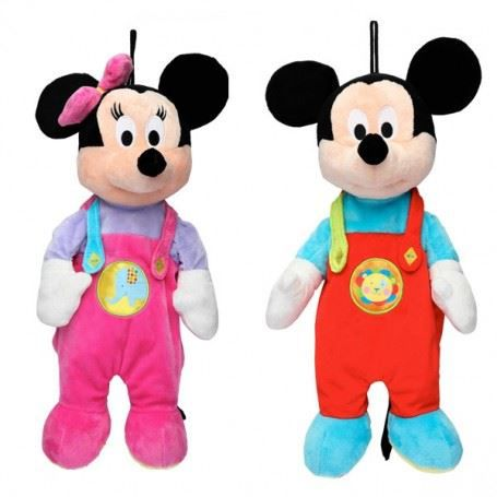 mickey ou minnie peluche range pyjama de achat vente peluche soldes d hiver d s le 6. Black Bedroom Furniture Sets. Home Design Ideas