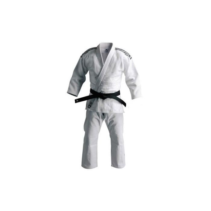 wholesale online huge inventory outlet for sale Kimono Judo J930 Blanc Adidas couleurs de bandes au choix ...