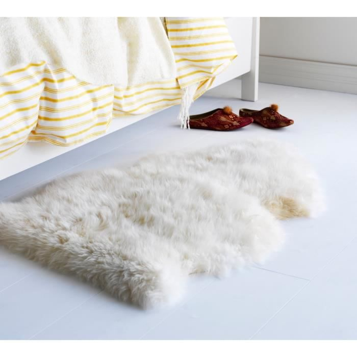tapis mouton achat vente tapis cdiscount. Black Bedroom Furniture Sets. Home Design Ideas