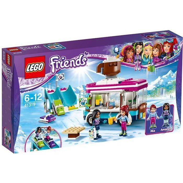 ASSEMBLAGE CONSTRUCTION Lego 41319 Friends - La camionnette à chocolat de