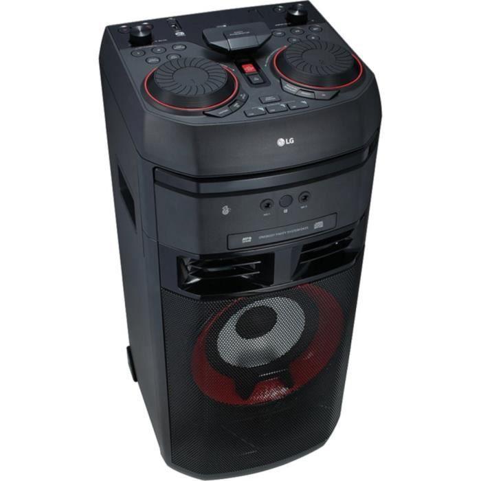 CHAINE HI-FI LG OK55 Chaîne High Power - 500 Watts - Bluetooth