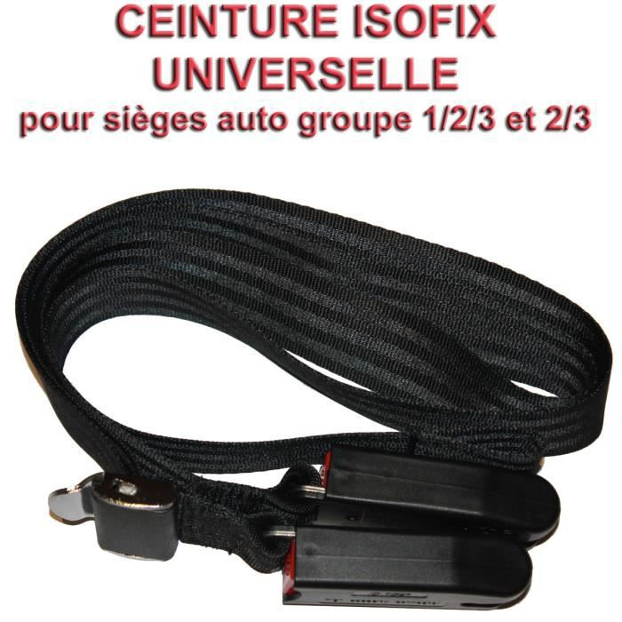 ceinture isofix pour siege auto 1 2 3 2 3 achat vente. Black Bedroom Furniture Sets. Home Design Ideas