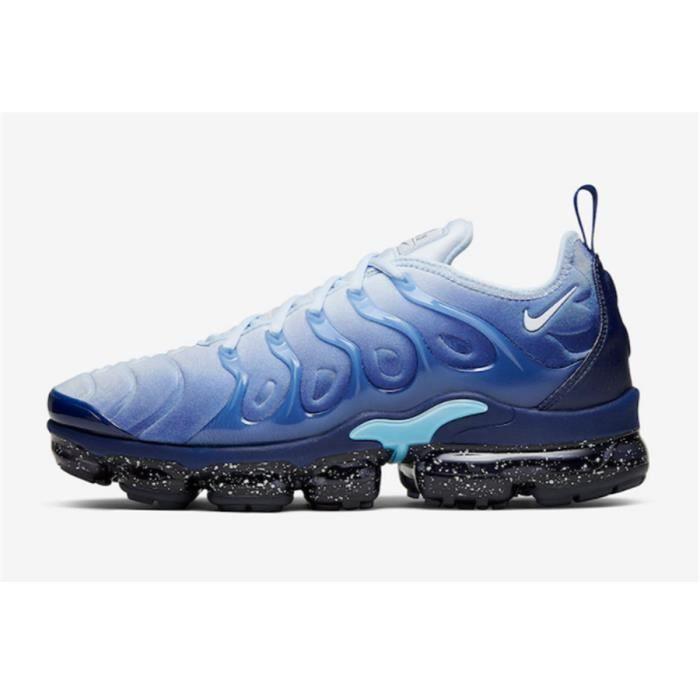 Nike Air VaporMax Plus Chaussures De Course Glace Bleu.