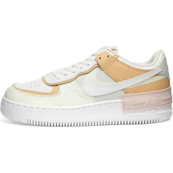 air force one jaune pale femme