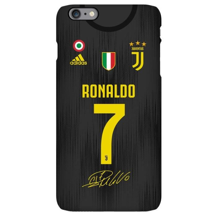 etui coque iphone 7 plus 8 plus 2019 noir juventus