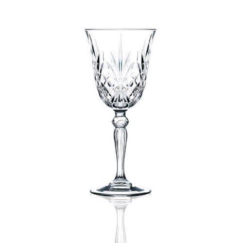 Boheme Cristal Set 6 verres /á Champagne Angela dargent gravure 190 ml avec noir tige
