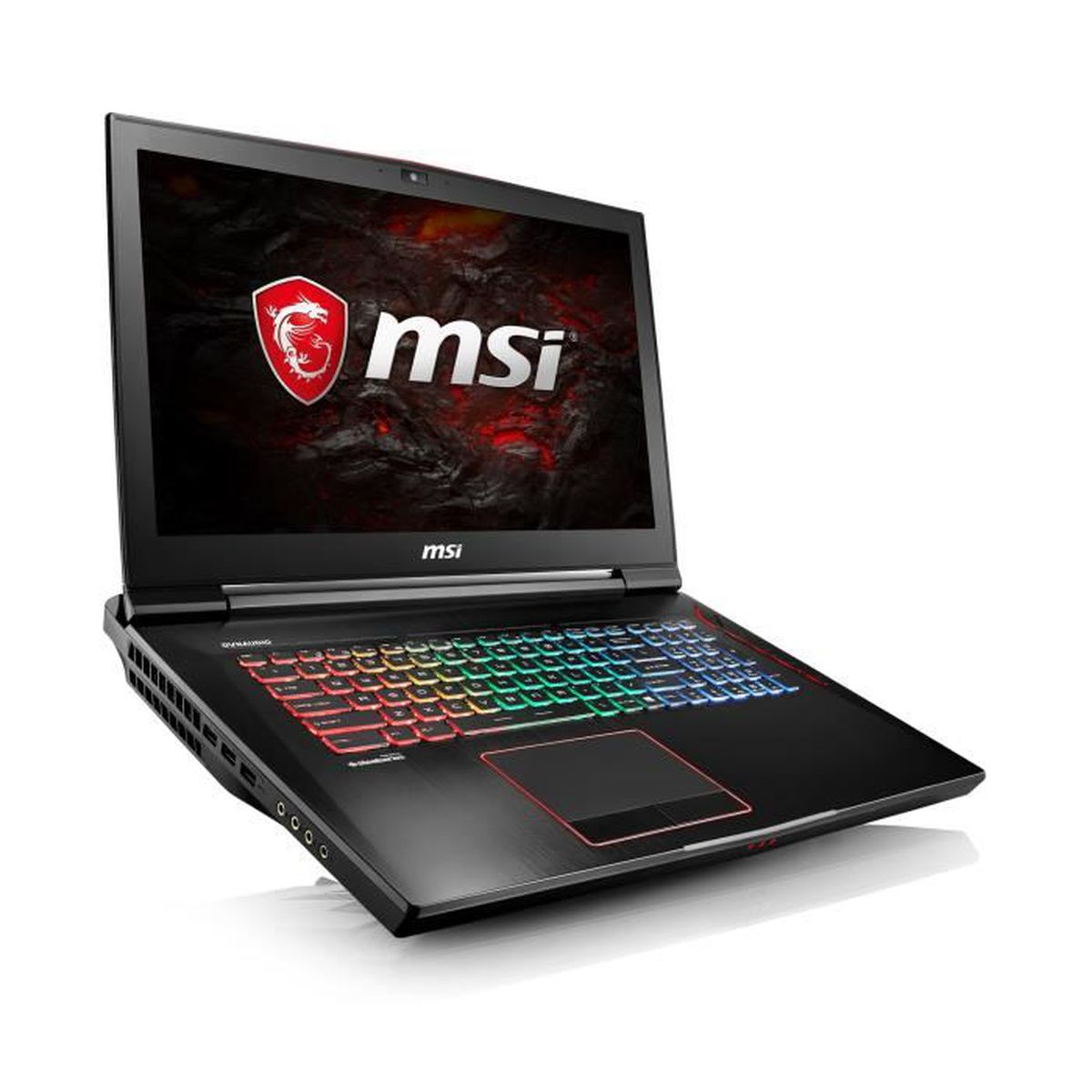 msi pc portable gamer gt73vr 7re 492fr titan 17 3 ram. Black Bedroom Furniture Sets. Home Design Ideas