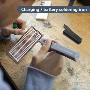 FER - POSTE A SOUDER Fer à souder à double batterie électrique à souder