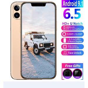 SMARTPHONE i11 pro T4G LTE Smartphones 6G RAM 128 GB ROM  tél