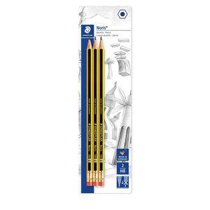CRAYON GRAPHITE Staedtler Noris 122, Crayons à papier HB en bois d