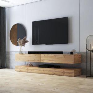 MEUBLE TV Meuble TV / Meuble de salon - AVIATOR - 140 cm - e