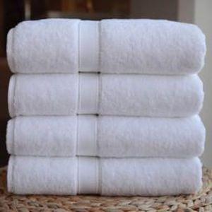 SERVIETTES DE BAIN Lot de 4 Serviettes de bain  70 x 140 cm 100% c...