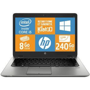 ORDINATEUR PORTABLE Pc portableHPElitebook840g1 ultrabook core i5